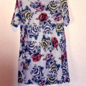 TOPSHOP Foral Mini Dress